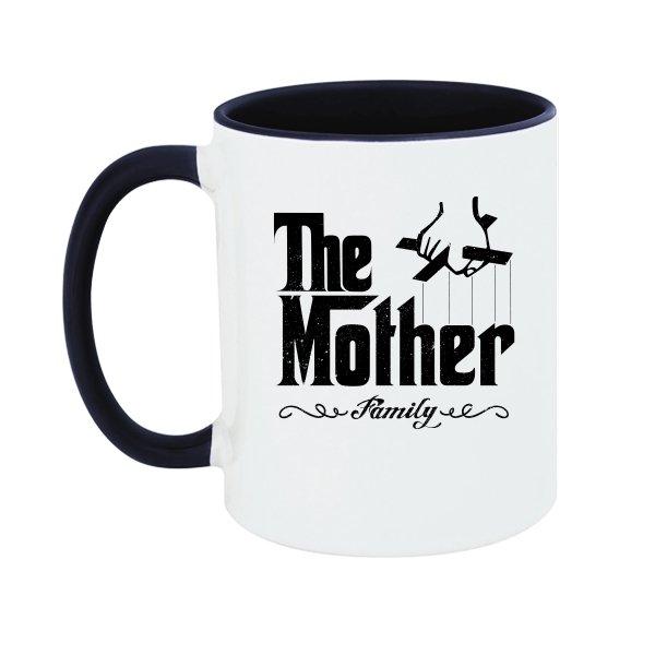 Чашка Мама главная в семье