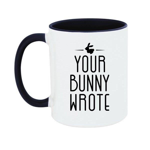 Чашка Ваш Кролик написал