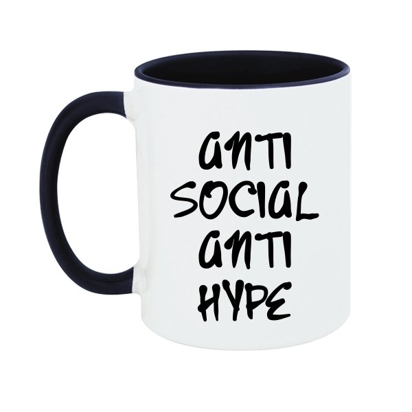 Чашка Anti Social Anti Hype