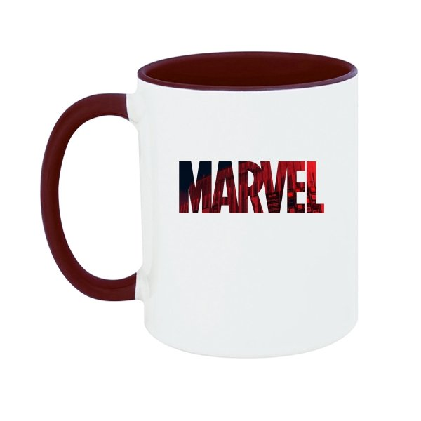 Чашка Marvel logo