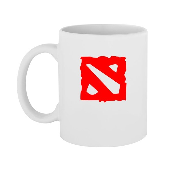 Чашка Логотип Дота