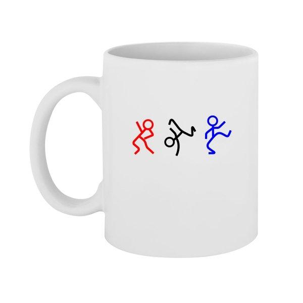 Чашка Танцующие Человечки