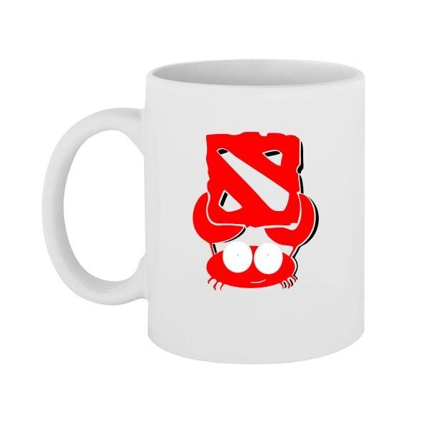Чашка Краб Дота