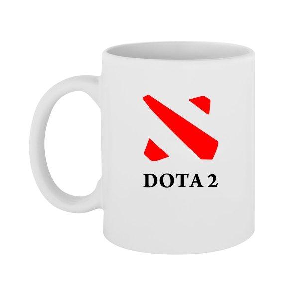 Чашка Dota 2 контур