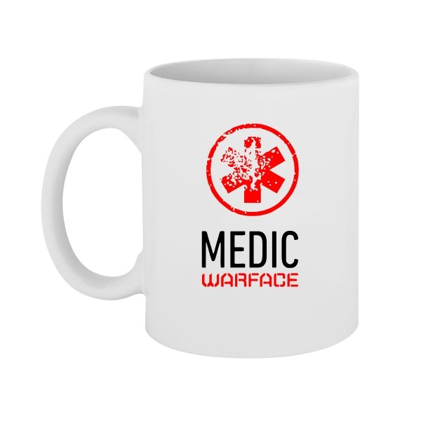 Чашка Warface Медик