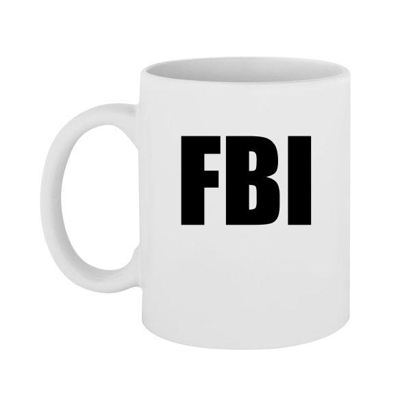 Чашка FBI