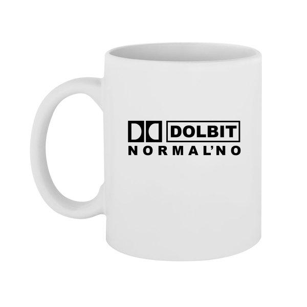 Чашка Долбит Нормально