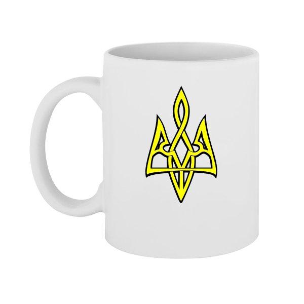 Чашка Трезубец 3D