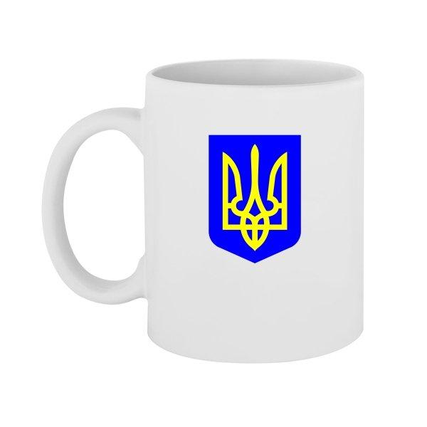 Чашка Герб Трезубец