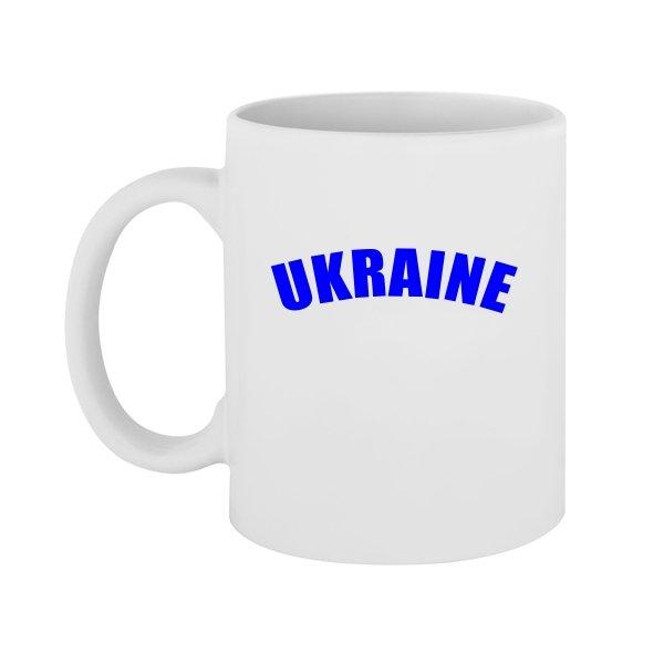 Чашка Надпись Ukraine