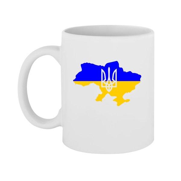 Чашка Карта с Трезубцем