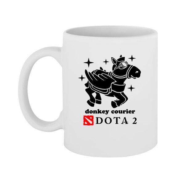 Чашка Donkey Courier
