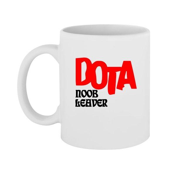 Чашка Dota Noob Leader