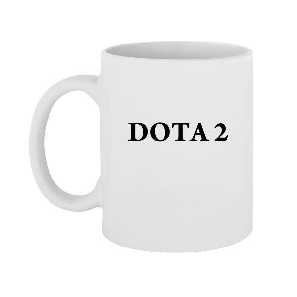 Чашка Надпись Дота 2