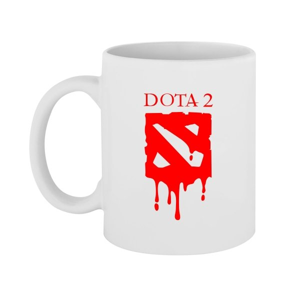 Чашка Кровавая Дота-2