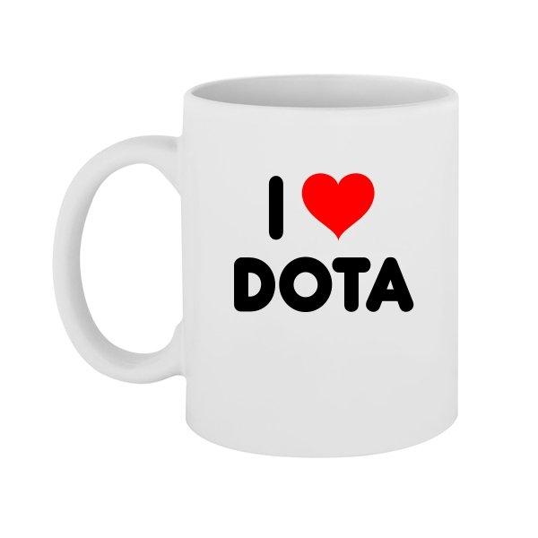 Чашка I Love Dota
