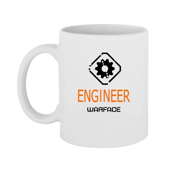Чашка Warface Инженер