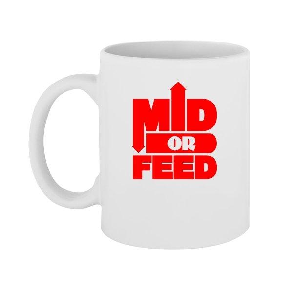 Чашка Mid or Feed