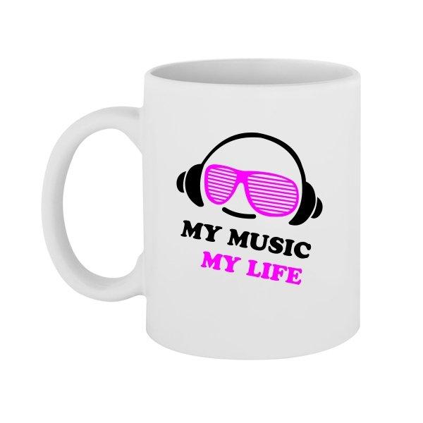Чашка Моя Музыка - Моя Жизнь