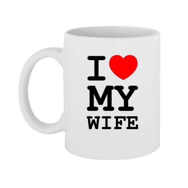 Чашка Люблю Свою Жену