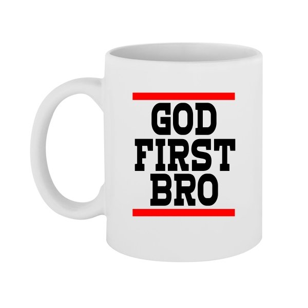Чашка Сначала Бог