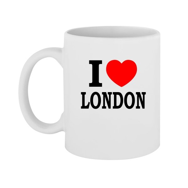 Чашка Я люблю Лондон