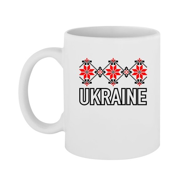 Чашка Орнамент Ukraine