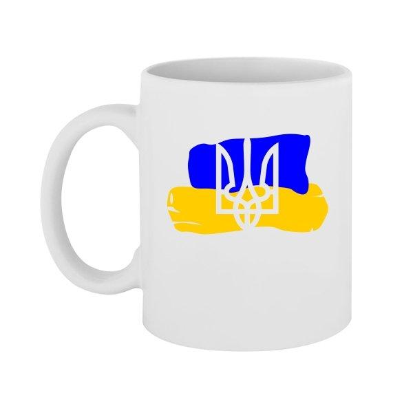 Чашка Прапор з Тризубом