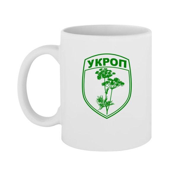 Чашка Укроп