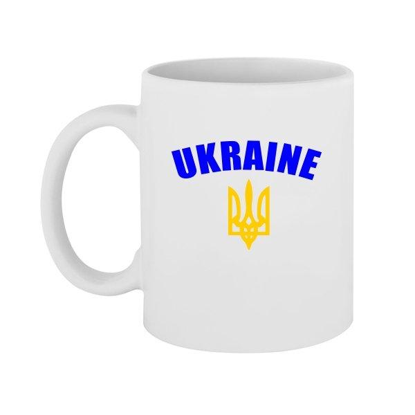 Чашка Трезубец с надписью