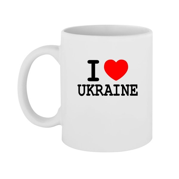 Чашка Я Люблю Украину