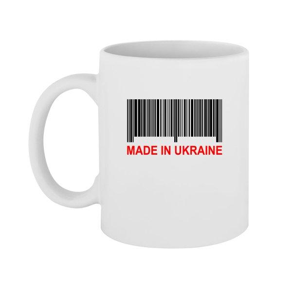 Чашка Made in Ukraine