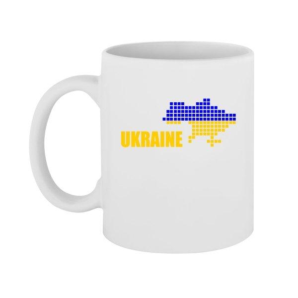 Чашка Карта Украины