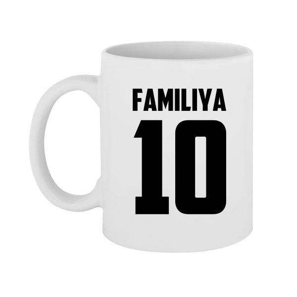 Чашка Фамилия и Номер
