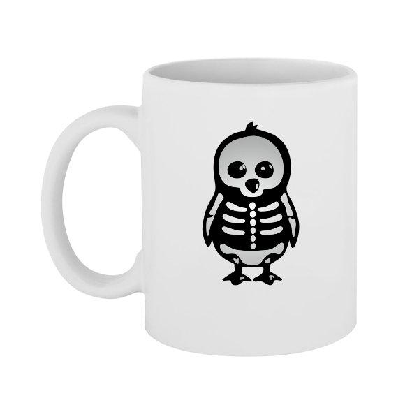 Чашка Скелет Пингвина