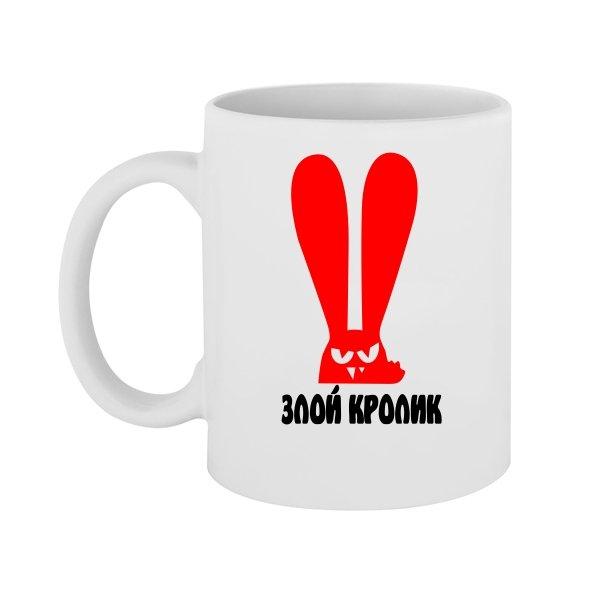 Чашка Злой Кролик