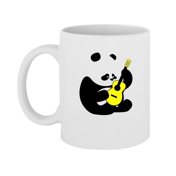Чашка Панда с Гитарой