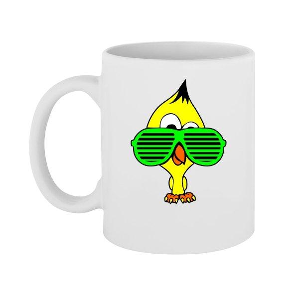 Чашка Ципа в Очках