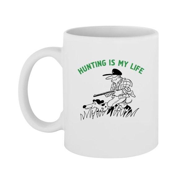 Чашка Охота моя жизнь