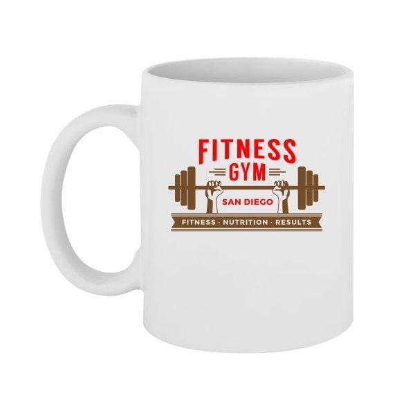 Чашка Fitness Gym