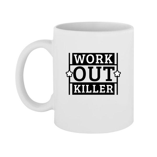 Чашка Work Out Killer