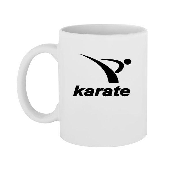 Чашка Karate лого