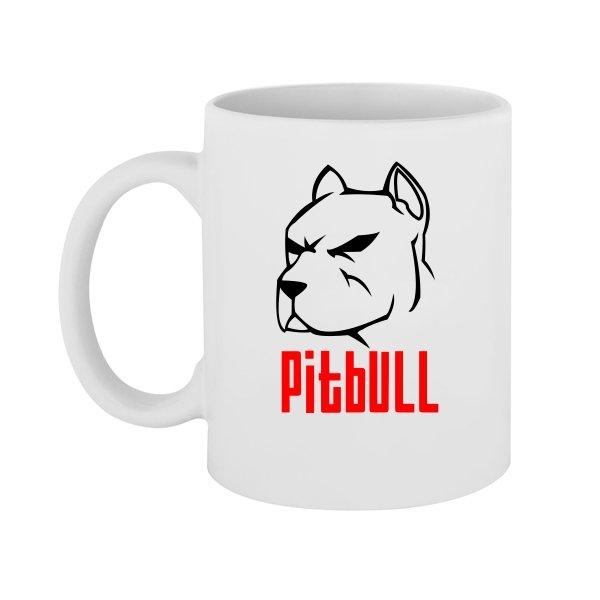 Чашка Питбуль