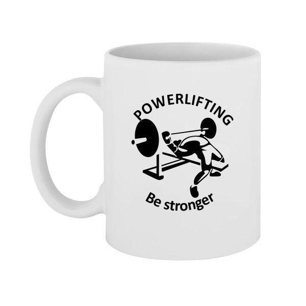 Чашка Powerlifting Be Stronger