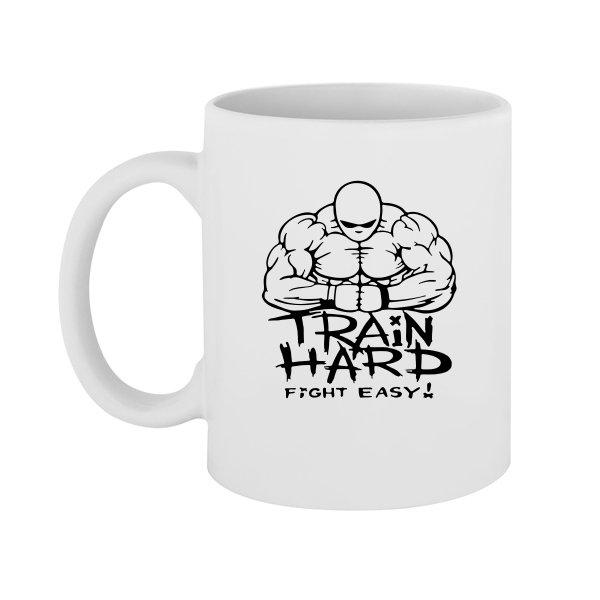 Чашка Train Hard Fight Easy