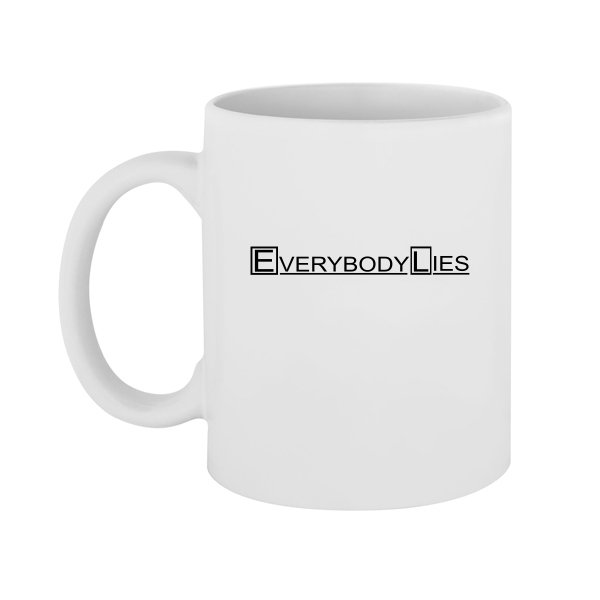 Чашка Everybody Lies