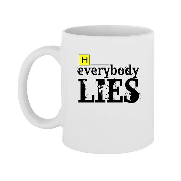 Чашка Доктор Хаус Everybody Lies