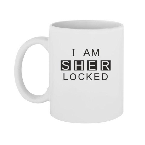 Чашка I am Sher Locked