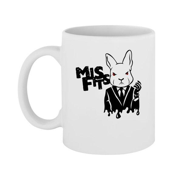 Чашка Misfits (кролик из сериала)