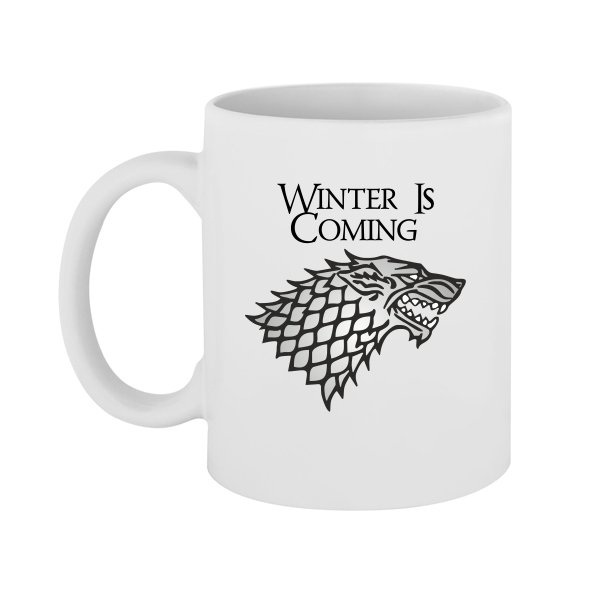 Чашка Winter is Coming